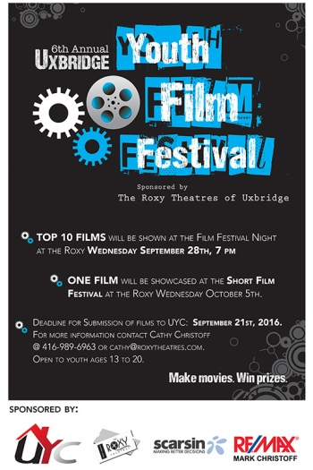 Uxbridge Youth Film Festival